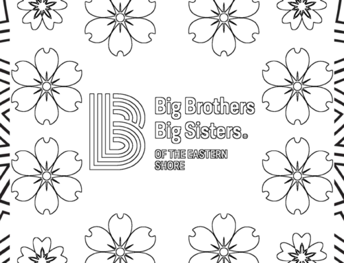 Big Brothers Big Sisters of the Eastern Shore- Printable Coloring Page